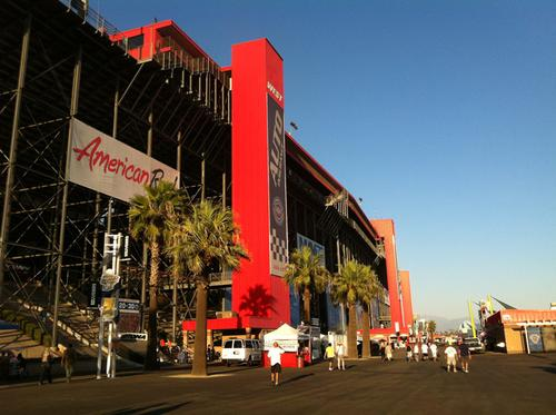 Built in 1997 by Roger Penske, the AutoClub Speedway in Fontana, Calif., served as the final stop for the 16-race 2012 IndyCar series season. Penske said he'd like the 2013 to finish here, as well.