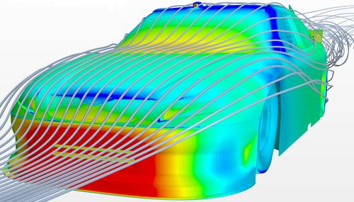Michael Waltrip Racing's secret weapon coming off of its competitive NASCAR racing season is the combination of CD-adapco's Star-CCM+ CFD tools and wind tunnel testing.   (Source: Michael Waltrip Racing)