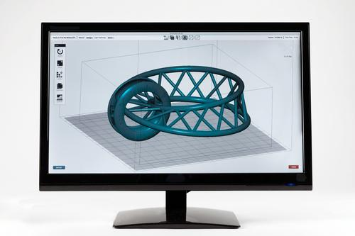 The accompanying Form software lets users generate smart support structures for complex geometries and send jobs to the printer with only a few clicks. (Source: Formlabs)