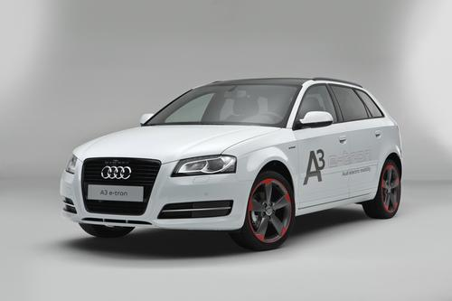 Audi's well-known A3 family car will be the luxury automaker's first to employ an electric powertrain. The plug-in hybrid version of the car will launch in 2014.   (Source: Audi)