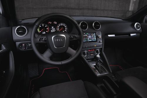 The Audi A3 e-tron will have a luxury interior similar to that of earlier A3 vehicles. By launching in the premium segment, engineers say the cost of the extra powertrain can be more easily absorbed in the overall cost of the vehicle.   (Source: Audi)