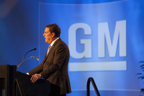 GM North American president Mark Reuss told an audience at SAE Convergence that the performance of US students in science and math is 'disgusting.'   (Source: SAE)