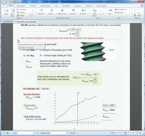 Mathcad Express includes much of the base functionality of the full Mathcad Prime 2.0 release, but is available for free for the lifetime of the user.   (Source: PTC)