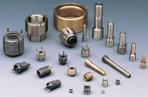 Alcoa's Keensert inserts and studs, shown here, along with Inconel 718 bolts and standard hexagon nuts, went to Mars on the Curiosity Rover. In spacecraft and aircraft, Keenserts provide high resistance to torque-out and pullout loads.