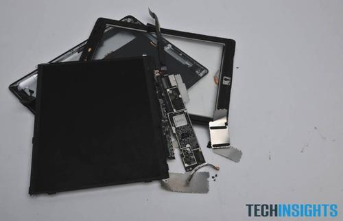 This is what is left of our iPad 4. Click through the slideshow to see how we got here.