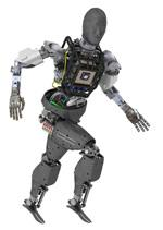 A humanoid, stair-climbing, autonomous, decision-making robot that Boston Dynamics has been developing for DARPA now has arms. But is this a good thing?   (Source: DARPA)