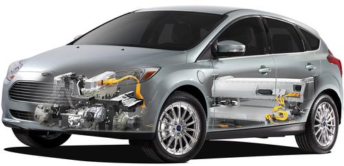 Ford's Focus Electric initially launched in California, New York, and New Jersey, as well as in some selected metropolitan markets. The company predicted sales of 5,000 vehicles in 2012.   (Source: Ford Motor)