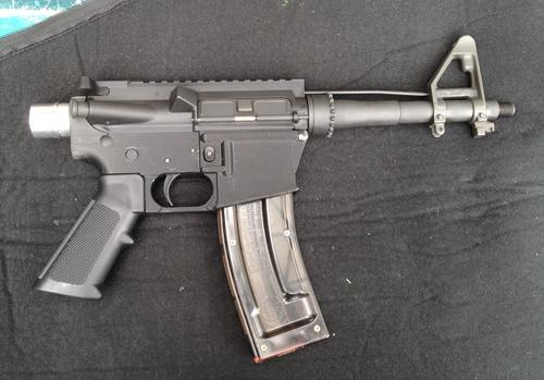 Have Blue's 3D-printed converted AR-15. (Source: Defense Distributed)