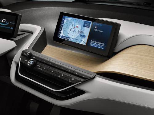 The i3 Coupe is networked to the outside world via BMW i ConnectedDrive. (Source: BMW)