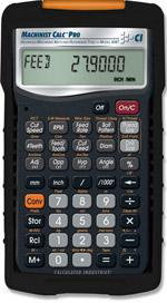 The Machinist Calc Pro. (Source: Calculated Industries)