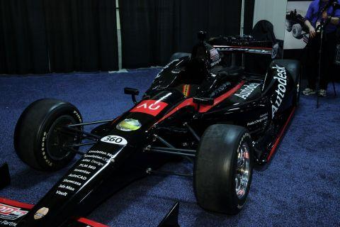 IndyCar's engineering and operations group will use Autodesk Digital Prototyping applications to design and engineer product innovations for chassis designs, parts, and components.   (Source: Autodesk)