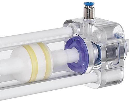 Damp & Seal in a pneumatic cylinder.