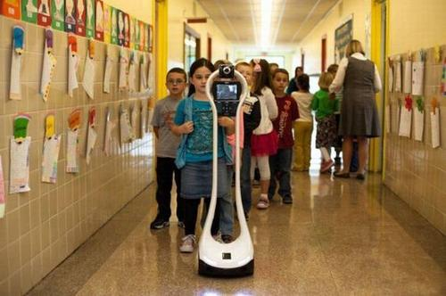 The $5,000 VGo telepresence robot is one of the least expensive players on the market today. This bot can go a full day - 12 hours with the extended battery.  (Source: VGo Communications Inc.)