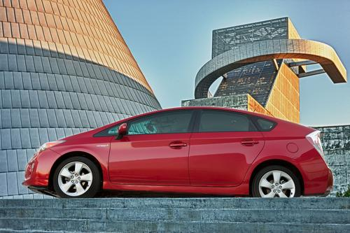 Toyota's Prius uses a Vehicle Proximity Notification System under the hood that emits additional engine-like noises below 15mph.   (Source: Toyota)