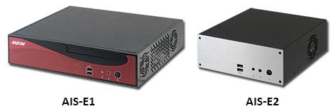 The AAEON AIS-E1 and AIS-E2 embedded servers feature Intel Core i7/i5/Celeron processors and can be used to power intelligent automation solutions in factories and buildings, as well as enable IP surveillance and advanced digital sign solutions.   (Source: AAEON)