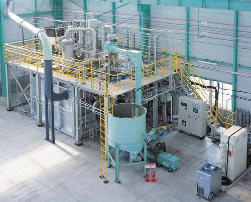 Dow Chemical and Klean Industries are collaborating to build waste recovery facilities throughout North America for recovering energy, chemicals, and oil from nonrecycled waste plastics, using gasification systems such as this one.   (Source: Klean Industries)