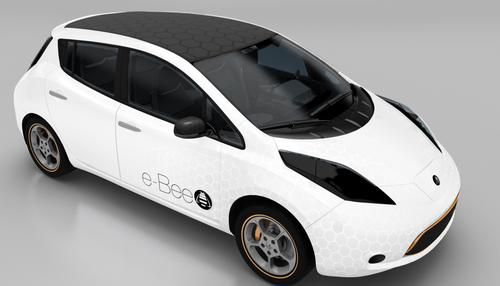 The e-Bee electric vehicle is designed to be customizable for each user.  Profiles are stored locally, and changes are accessible in the vehicles many touchscreens.   (Source: Visteon)