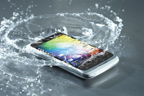 UK-based P2i has developed a waterproof nano-coating that protects smartphones such as the Alcatel One Touch, and Motorola's RAZR and XOOM. We think the company should develop the technology for consumers who want to apply it to the devices they already own.   (Source: P2i)