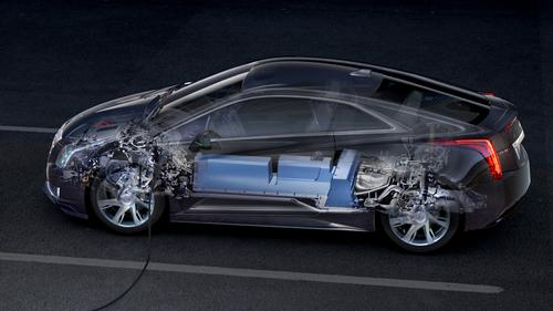 Cadillac's ELR, based on the Converj concept car, will be the only electric vehicle offered by a full-line luxury automaker when it reaches production in 2013.   (Source: Cadillac)