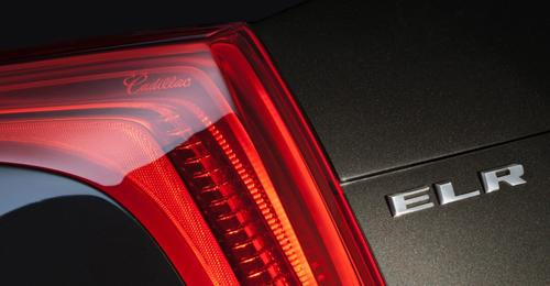 The ELR will feature LED taillamps and headlamps.   (Source: Cadillac)