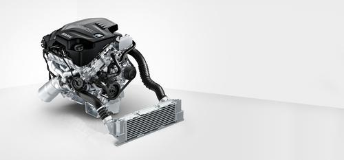 BMW's 2.0L TwinPower Turbo inline four-cylinder engine develops a maximum output of 180HP at 5,000rpm and 200 lb-ft of torque at 1,250rpm. The engine employs twin scroll-type turbochargers, variable cam timing, and direct fuel injection.   (Source: BMW)