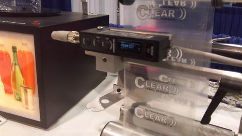 Tri-Tronics' Ultrasonic Clear Label Sensor can replace vision systems in some printing applications.   (Design News photo)