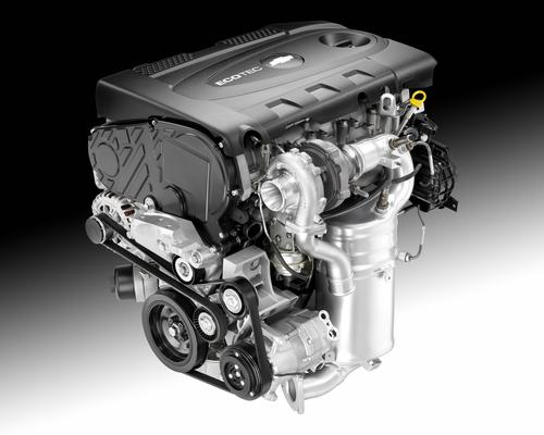 GM's 2.0-liter turbo-diesel engine produces 148 HP and 258 lb-ft of torque -- a hundred lb-ft more than the Chevy Cruze's gasoline-burning counterpart.   (Source: Chevrolet)