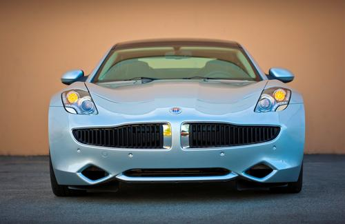 Fisker Automotive co-founder Henrik Fisker describes the Karma as a 'sedan with a coupe-like appearance.' Design highlights include a long hood, short deck, low roofline, wide stance, and pronounced fenders.   (Source: Fisker Automotive)