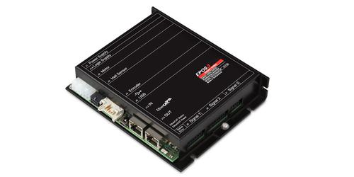 The new EPOS3 70/10 EtherCAT digital controller allows for real-time positioning and high-speed synchronization of multi-axis systems, including robotics, automation, and mechantronics.   (Source: maxon)