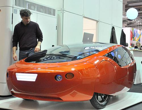 Urbee, the first 3D-printed car, is nearly ready for the road. Its inventor Jim Kor, president of KOR EcoLogic, has teamed with Stratasys RedEye On Demand business to 3D print the car's body out of polymer using the company's Fused Deposition Modeling process.   (Source: KOR EcoLogic)