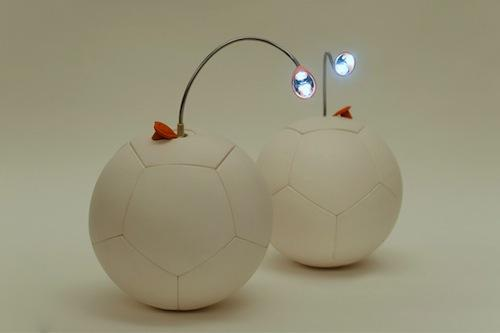 Uncharted Play Inc. has developed an energy-harvesting soccer bar that can save and generate 6W of energy through a mechanism inside the ball. The company is developing accessories like an LED light that can be used to provide electricity to people in regions of the world where they have little or no access to it.   (Source: Uncharted Play Inc.)