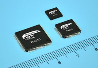 Renesas has introduced the first products in its RX210 series of microcontrollers designedto couple low power with high performance.(Source: Renesas Electronics)