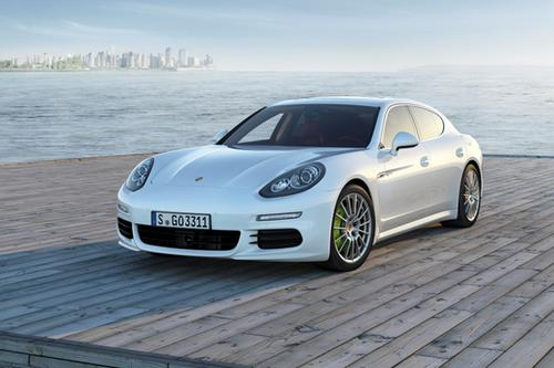 Porsche's first-ever plug-in hybrid, the Panamera S E-Hybrid, will store energy in a 9.4 kWh lithium-ion battery. The vehicle's hybrid predecessor (not a plug-in) employed a 1.7 kWh nickel-metal hydride battery pack.  (Source: Porsche)