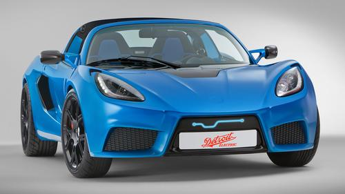 Detroit Electric's SP:01 will accelerate from 0 to 62mph in 3.7 seconds and hit a top speed of 155mph.(Source: Detroit Electric)