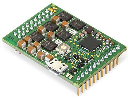 The ESCON Module 50/5 miniaturized OEM plug-in is the newest addition to Maxon Motor's ECSON servo controller series.   (Source: Maxon)
