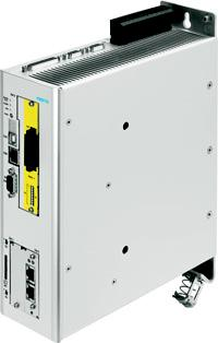Festo's new servo drive, the CMMP-AS..M3, features integrated safety features so it doesn't have to be retrofitted during installation.   (Source: Festo)