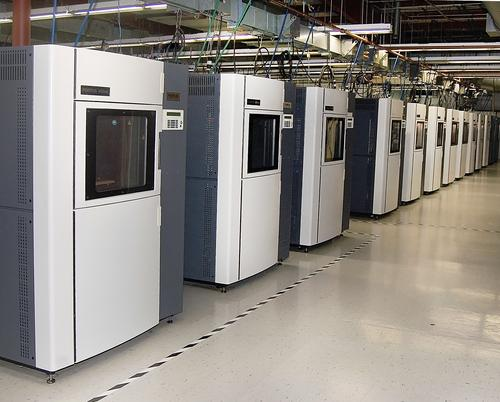 Stratasys will buy Solid Concepts and Harvest Technologies and combine them with its RedEye service business. The move takes aim at end-production manufacturing. All three companies use Stratasys' Fortus 400mc 3D Production Systems, shown here.(Source: Stratasys)