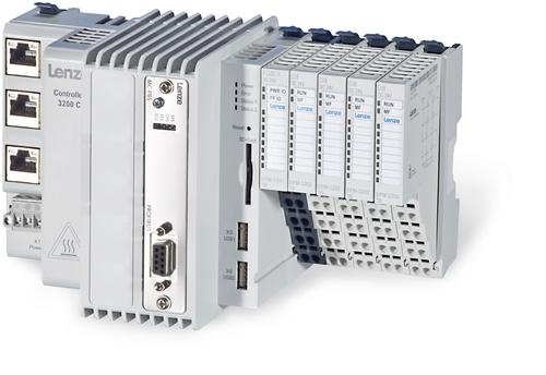 Designed for applications in the packaging and process automation industries, the compact, energy-efficient Lenze 3200 C L-Force Controller blends the program logic controller (PLC), motion controller and visualization in one compact device to simplify engineering and extend cost savings.
