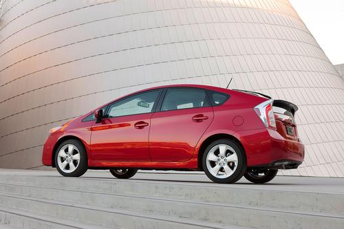 With 51mpg in city driving and 48mpg on the highway, the Toyota Prius extends its run as one of the topgreen cars on the market. This hybrid starts at $24,200.(Source: Toyota)