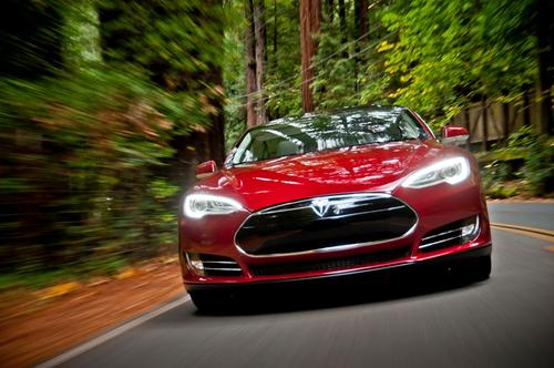 In a battery of tests at Consumer Reports' facility, the Tesla Model S outperformed every gasoline-burning vehicle. 'We have a Porsche Panamera in our fleet that costs the same as this car,' Jake Fisher of Consumer Reports told us. 'This car is quicker; it rides better; it's roomier. It has much more storage capacity. It's a better vehicle.'   (Source: Tesla Motors)