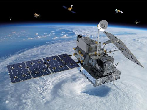Carbon fiber composites are used in a satellite fuel tank designed to burn up on re-entry. The tank will be used in the core satellite of NASA's Global Precipitation Measurement program. The core satellite and partner satellites will measure rain and snow around the globe to improve weather forecastingand gather data on climate change.(Source: NASA)
