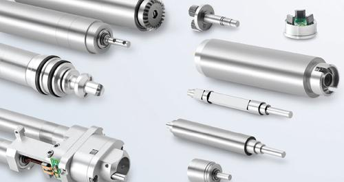 Customizations of slotted DC motors for medical device applications include hollow shaft designs, which put the motor directly inline versus offsetting it with gearing to reduce size, weight, and cost of materials.   (Source: Portescap)