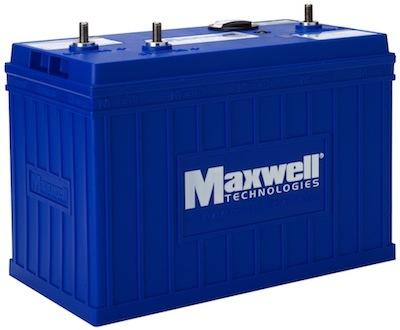 Maxwell Technologies' ultracapacitor-based Engine Start Module.