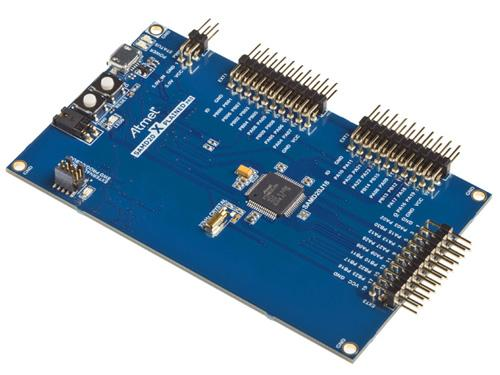 The SAM D20 microcontroller series is Atmel's first for the ARM Cortex-MO+ Core processor. The new 32-bit products are aimed at the home automation, consumer products, smart metering, and industrial markets.(Source: Atmel)