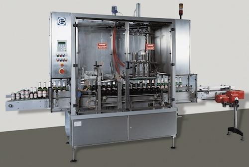 Rink automated systems for emptying bottles. The valves of these systems are equipped with cylindrical DryLin bearings.