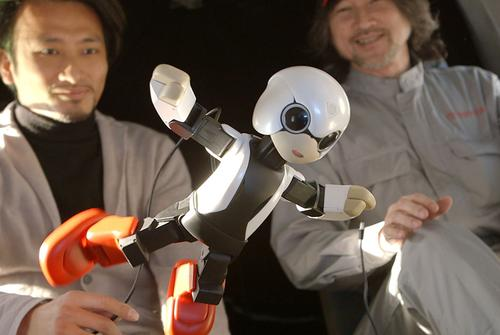 To prepare for its trip, Kirobo participated in zero-gravity and other safety tests.   (Source: Toyota)