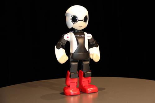 Toyota's 13-inch-tall Kirobo communications robot will travel to the International Space Station in August. There, it will use voice recognition and natural language processing to engage in conversations with astronaut Koichi Wakata.  (Source: Toyota)