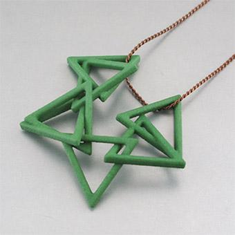 Example of a 3D printed piece of jewelry from eBay Exact.   (Source: eBay Exact)