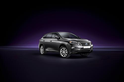 The Lexus RX 450h hybrid employs a max voltage of 650V.   (Source: Lexus)