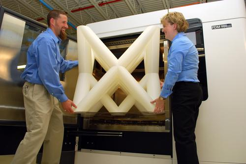 Parts and subassemblies as big as 36 inch x 24 inch x 36 inch can be additively manufactured with production-grade thermoplastics, making them durable enough for end-use.   (Source: RedEye)